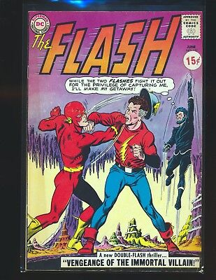 Flash # 137 - 1st SA Vandal Savage VG/Fine Cond. price sticker on cover
