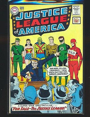 Justice League of America # 8 VG/Fine Cond. price sticker on cover