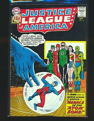Justice League of America # 14 VG/Fine Cond. price sticker on cover