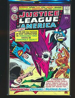 Justice League of America # 40 VG+ Cond. price sticker on cover