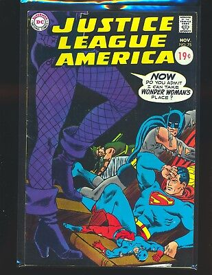 Justice League of America # 75 VG/Fine Cond. price sticker on cover