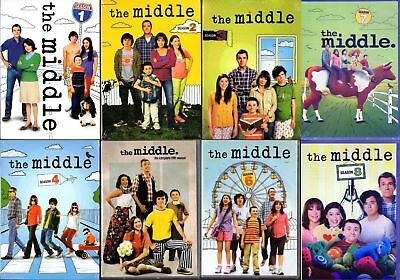 The Middle Complete Series Seasons 1-8 DVD 2017 24-Disc Set 1 2 3 4 5 6 7 8 NEW!