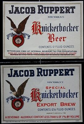BEUSA 324 # beer label USA New York Ruppert Brewing NY - 2x