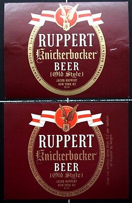 BEUSA 335 # beer label USA New York Ruppert Brewing NY - 2x