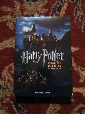 HARRY POTTER Complete 8-Film Collection 8 DVD Set