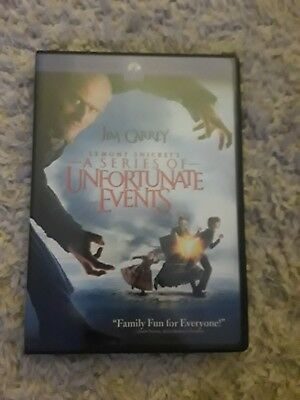Lemony Snickets A Series of Unfortunate Events (DVD, 2005, Full Screen Collecti…