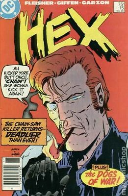Hex (DC) #15 1986 VF Stock Image