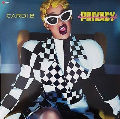 Cardi B - Invasion Of Privacy - 2Lp - Colored Vinyl