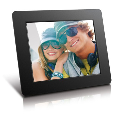 Aluratek ADPF08SF 8 Inch Digital Photo Frame - Black