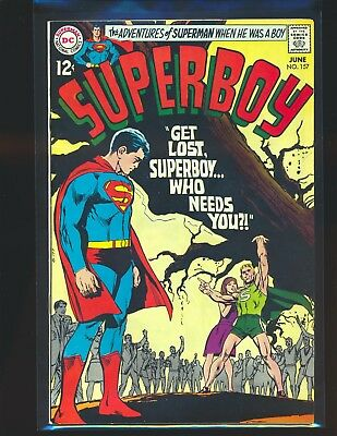 Superboy # 157 - Neal Adams cover VF Cond.