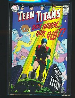 Teen Titans # 14 - Nick Cardy cover VG+ Cond.