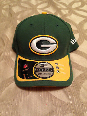 5d23202bb19 2018 Green Bay Packers New Era 39THIRTY NFL Sideline On Field Cap Hat Flex  NWT!