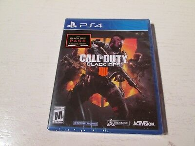 Call of Duty: Black Ops 4 (Sony PS4). Brand New & Factory Sealed. Free Shipping.