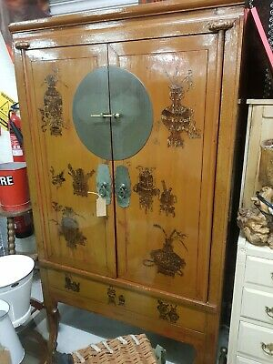Chinese Antique wooden wedding cabinet