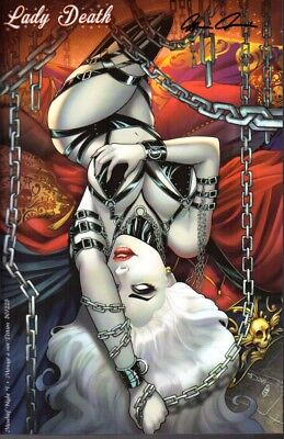 Coffin Comics Lady Death Mischief Night #1 Menage a Moi Ed # to 225 Signed