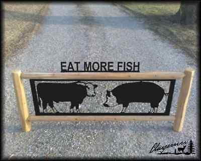 4H Cow And Pig Sign - Farm And Ranch Signs