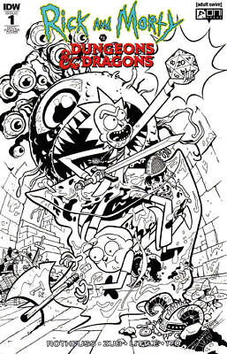 RICK AND MORTY VS DUNGEONS AND DRAGONS (2018) #1 - NYCC Variant Cover - (S)