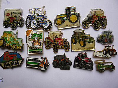 lot  15 pin s TRACTEURS  different