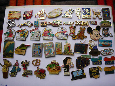 lot 50 pin s signer  A B  different