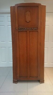 Retro Vintage Wardrobe by Leeds Furniture - Collection from Leicester