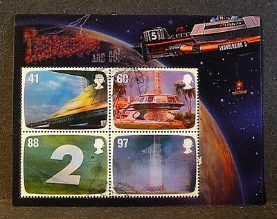 GB Stamps 2011 'Gerry Anderson - Thunderbirds' sg MS3142 - Fine used