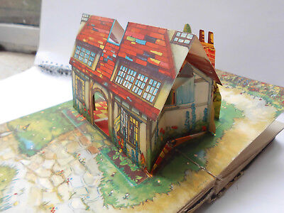 vintage Bookano Pop up book edited by S.Louis Giraud. 1940's