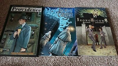 Alan Moore's Providence act 1, Neonomicon and The Courtyard Companion