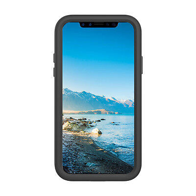 TUFF LUV Armour Guard TPU Shell Case for Apple iPhone X / Xs - Black