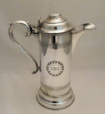 A Fine Silver Plated Communion Jug / Flagon - late 19th Century