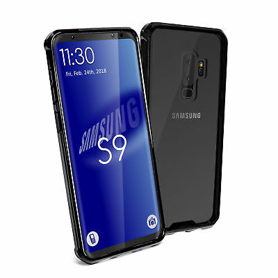 TUFF LUV Shockproof Armour Protective Back Cover Case for Samsung S9 - Clear