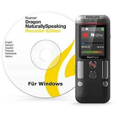 Philips DVT2710 Digital VoiceTracer Audio Recorder, Dragon speech recognition so