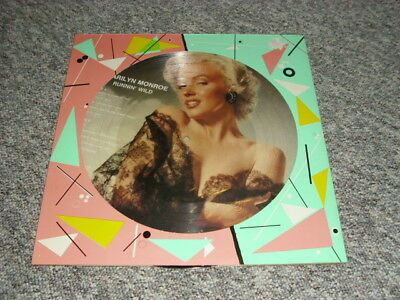 "Marilyn Monroe 12"" Picture Lp  Runnin Wild"