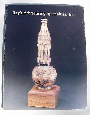 Coca-Cola 1982 Catalog Ray's Advertising Specialities Atlanta GA