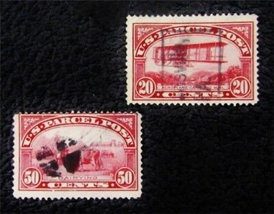 nystamps US Parcel Post Stamp # Q8 Q10 Used $80