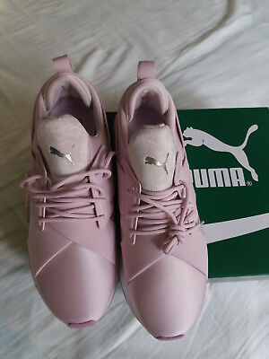 eba3fb8aa69a52 Puma Muse Satin Ii Wns Winsome Chaussures Orchid Smoky Grape Femme