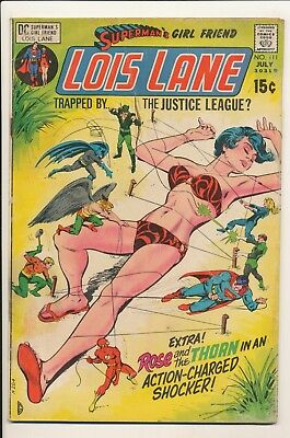 Superman's Girl Friend Lois Lane #111 July 1971 DC Justice League