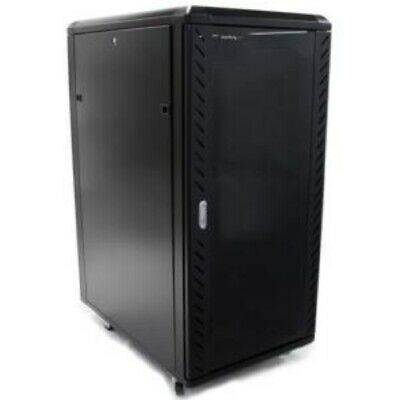 NEW STARTECH RK2536BKF 25U 36IN KNOCK-DOWN SERVER RACK CABINET.b.