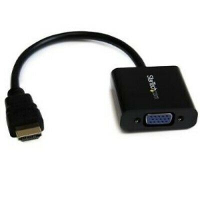 NEW STARTECH HD2VGAE2 HDMI TO VGA ADAPTER CONVERTER 1920X1080.b.