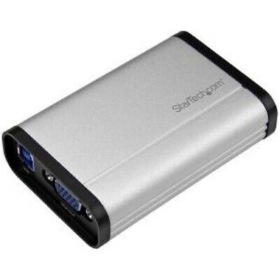 NEW STARTECH USB32VGCAPRO USB 3.0 VIDEO CAPTURE DEVICE - VGA.b.