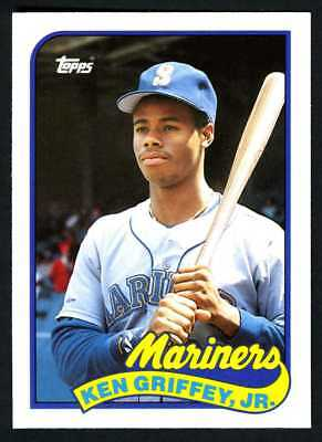 6862a18072 Ken Griffey Jr.~Seattle Mariners~1989 Topps Traded Pack-Fresh Rookie Rc