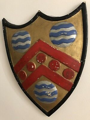 Antique Large Armorial Shield