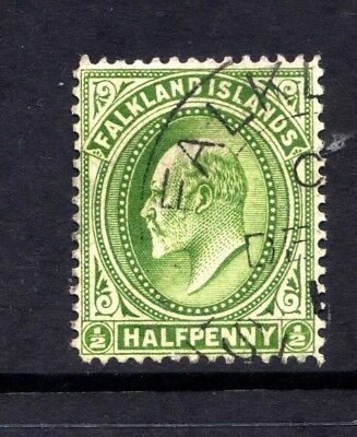 FALKLAND ISLANDS KEV11 1/2d SG43? FINE USED