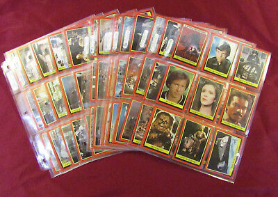 1983 Topps Star Wars Return Of The Jedi Complete Series 1 Set 132 Trading Card
