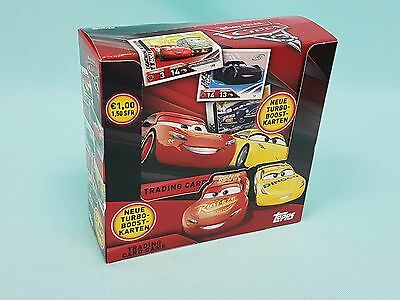 Topps Disney Cars 3 Trading Card 1 x Display / 36 Booster 2