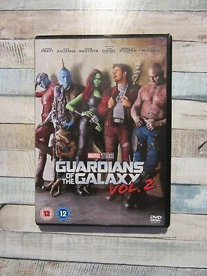 Guardians of The Galaxy: Vol. 2 - DVD, 2017  New  - Chris Pratt Bradley Cooper