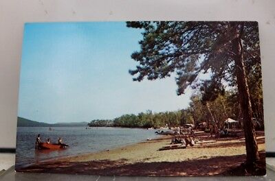 New Hampshire NH West Ossipee Westward Shores Camping Postcard Old Vintage Card