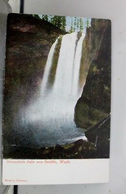 Washington WA Seattle Snoqualmie Falls Postcard Old Vintage Card View Standard