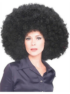 New Huge Mens Womens Oversized Black Afro Disco Wigs