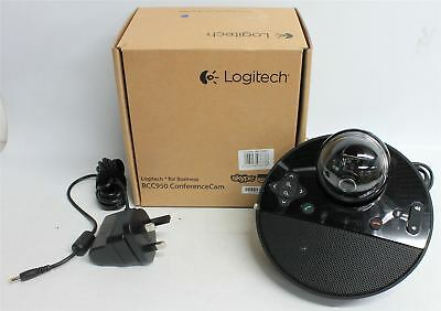 NEW LOGITECH BCC950 ConferenceCam 1080p Small Conference Camera w Speakerphone