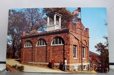 West Virginia WV Harper's Ferry John Brown's Fort Storer College Postcard Old PC